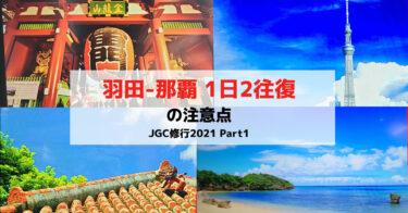 【JGC修行2021#1】JGCプレミア奪還へ!羽田那覇1日2往復でFOP荒稼ぎ