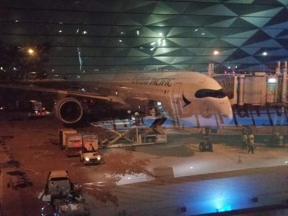 キャセイパシフィック航空A350-1000