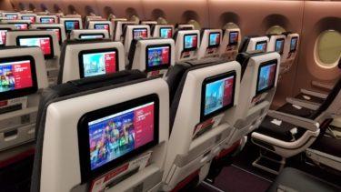 全席個人モニター完備!JALの最新機材エアバスA350に搭乗してきました!