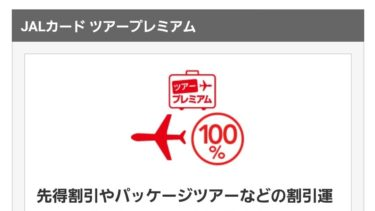 JALカードのオプション「ツアープレミアム」は必要?年1度でも海外行くなら加入しましょう。でも対象外運賃に注意